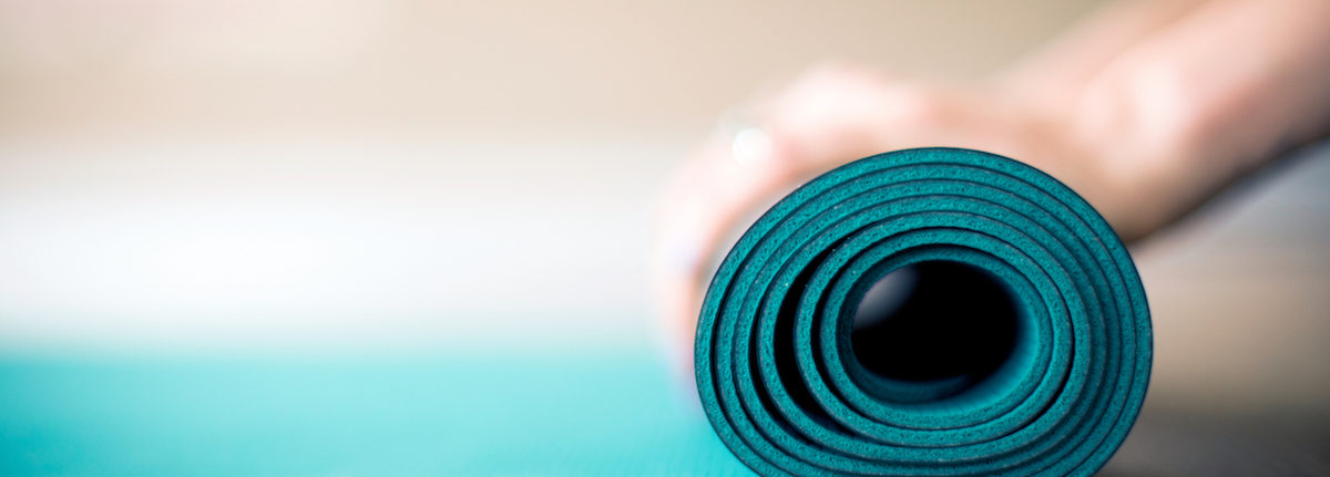 Yoga mat for empowered practice